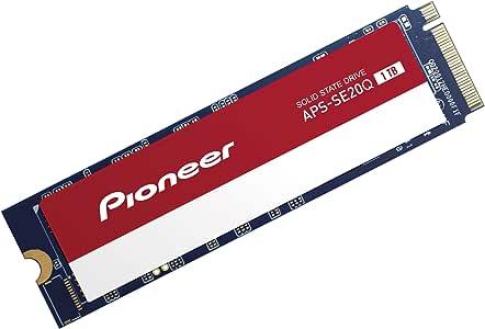 Pioneer 1TB NVMe PCIe M.2 2280 Gen 3x4 Internal Solid State Drive SSD Series (APS-SE20Q-1T)