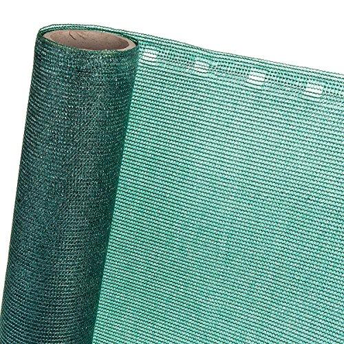1,5m² Zaunblende 85% in 1,5m Breite mit Knopflochleisten Sichtschutzgewebe Schattiernetz Sonnenschutznetz Sichtsblende Schattierungsgewebe (Meterware)
