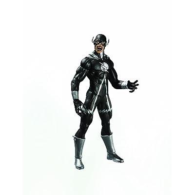 DC Direct Blackest Night: Series 8: Black Lantern Black Flash Action Figure: Toys & Games