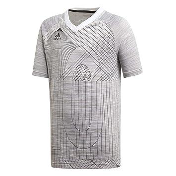 Adidas T-Shirt à Manches Courtes pour garçon S White  Amazon.fr ... 2edc3af2fc9