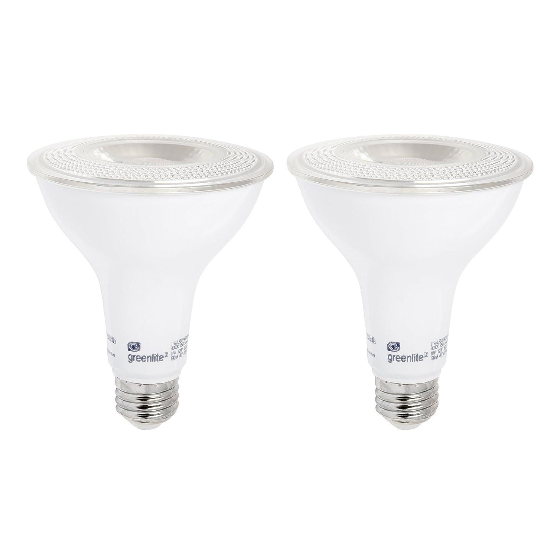 LED PAR30 Long Neck Dimmable Flood Light Bulb, 11W (75W Equivalent), 850 Lumens, 2700k Soft White, Indoor/Outdoor, Weatherproof, 120V, Energy Star, (2 Pack)