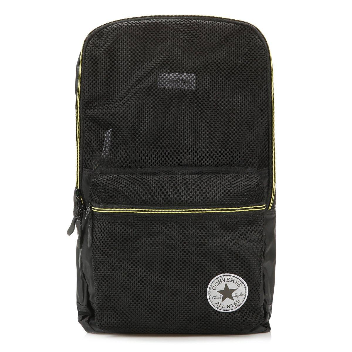 b2d691c8dc25 Converse Black Packable Backpack  Amazon.co.uk  Shoes   Bags