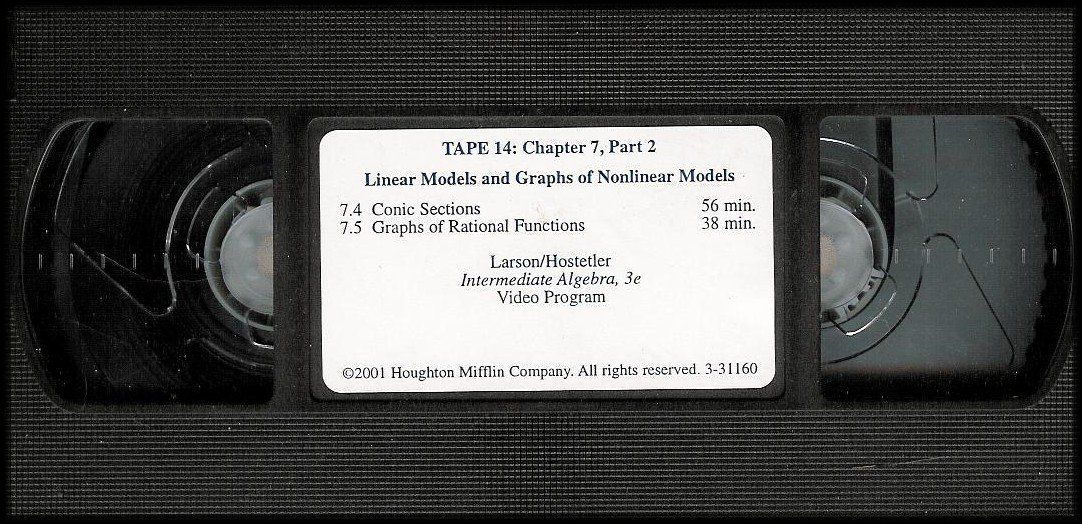 Amazon com: Linear Models and Graphs of Nonlinear Models: Tape 14