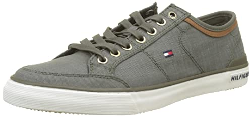 wholesale dealer 57f16 ef02e Tommy Hilfiger Herren Core Material Mix Sneaker