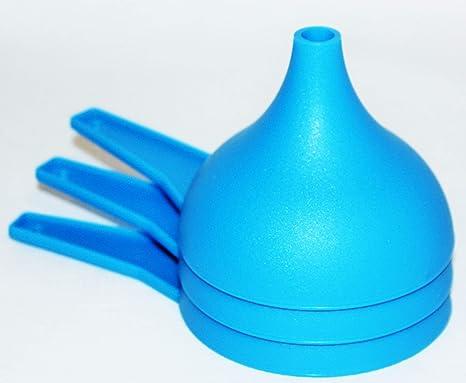 Amazon Com Tupperware Set Of 3 Funnels Large Kitchen Gadgets Blue Home Kitchen