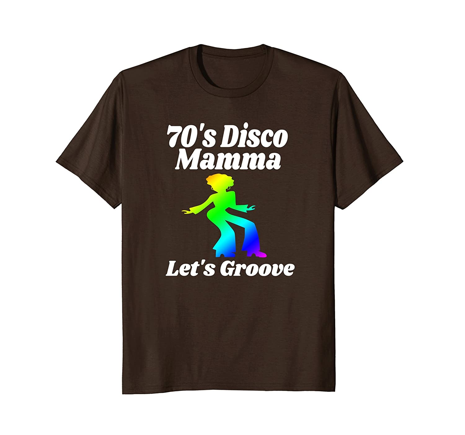 70's Disco Mamma Let's Groove Disco Party Shirt 70's Party-alottee gift