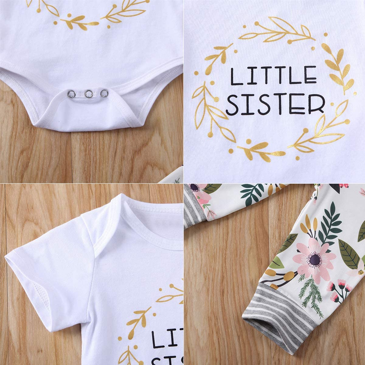 Borlai Schwester Die Kleidungsbabys Gro/ße Kleine Schwester Zusammenbringt Stellte Blumenkleidungssatz EIN
