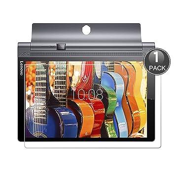 E-Hamii Lenovo Yoga Tab 3 Pro Protector de Pantalla, 0.26mm HD Anti-Scratch y Anti-huella digital Proteger la película, 9H Vidrio templado Cubierta ...