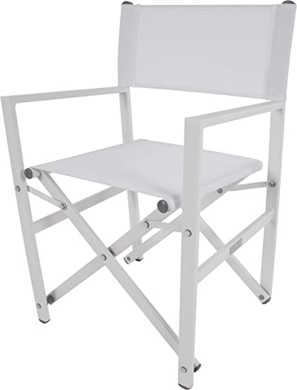 vivere stuc wh studio aluminum folding chair white amazon ca rh amazon ca
