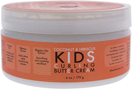 Shea Moisture Kids Curl Butter Cream Coconut & Hibiscus 6 oz