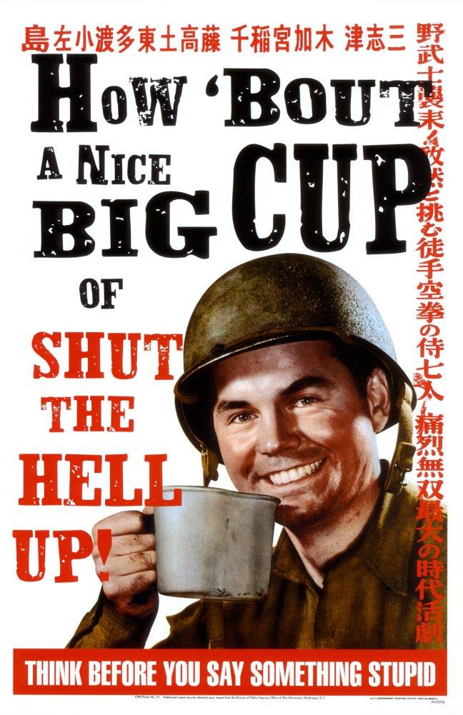 Shut Up Poster