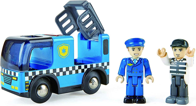 Coche de policía con Sirena de luz y Sonido: Amazon.es: Juguetes y juegos