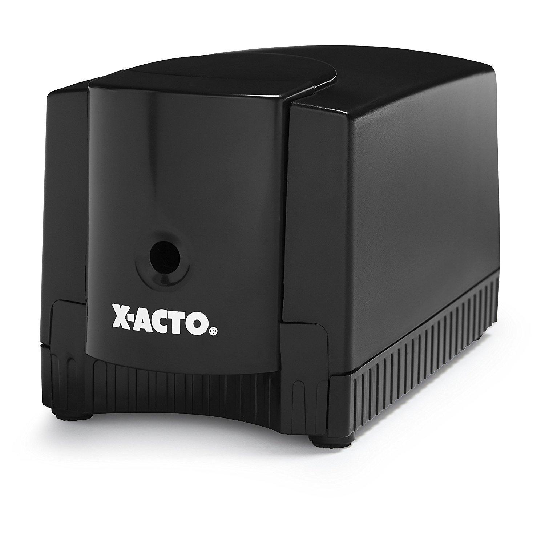 X-ACTO Magnum Electric Pencil Sharpener, Black, Case of 6