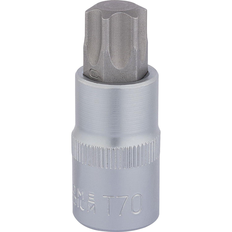 Draper 1/2' Drive 55mm Long Torx Socket Bit T70