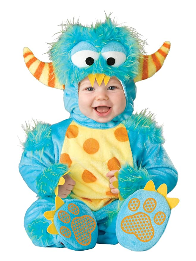 sc 1 st  Amazon.com & Amazon.com: InCharacter Baby Lilu0027 Monster Costume: Clothing