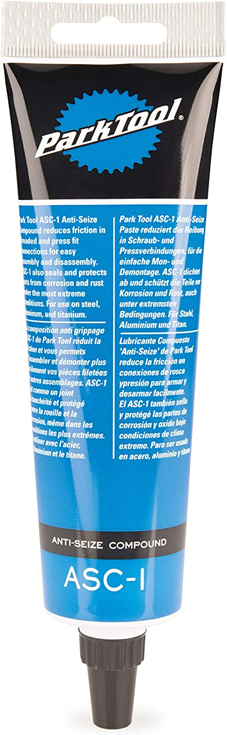 Park Tool ASC-1 Anti-Seize Compound for Bicycles