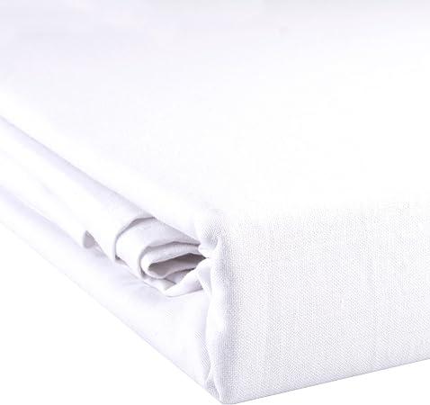 Aqua-textil Noblesse - Sábana bajera sin goma elástica, color ...