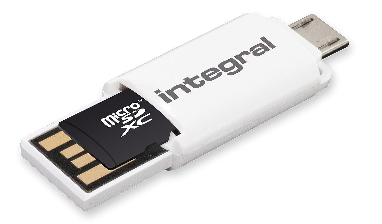 microSDHC Class 10 UHS-1 32 GB Tarjeta de memoria Integral  INMSDH32G10-90SPTAB