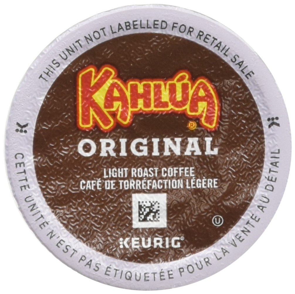 Kahlua Original K-Cups for Keurig Brewers, 24 Count (Pack of 4) by Timothy's World Coffee