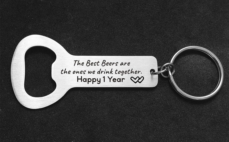 Personalized Gift For The Beer Lover Gift For Husband On Anniversary Bottle Opener Wedding Reminder I Still Do Bottle Opener Keychain