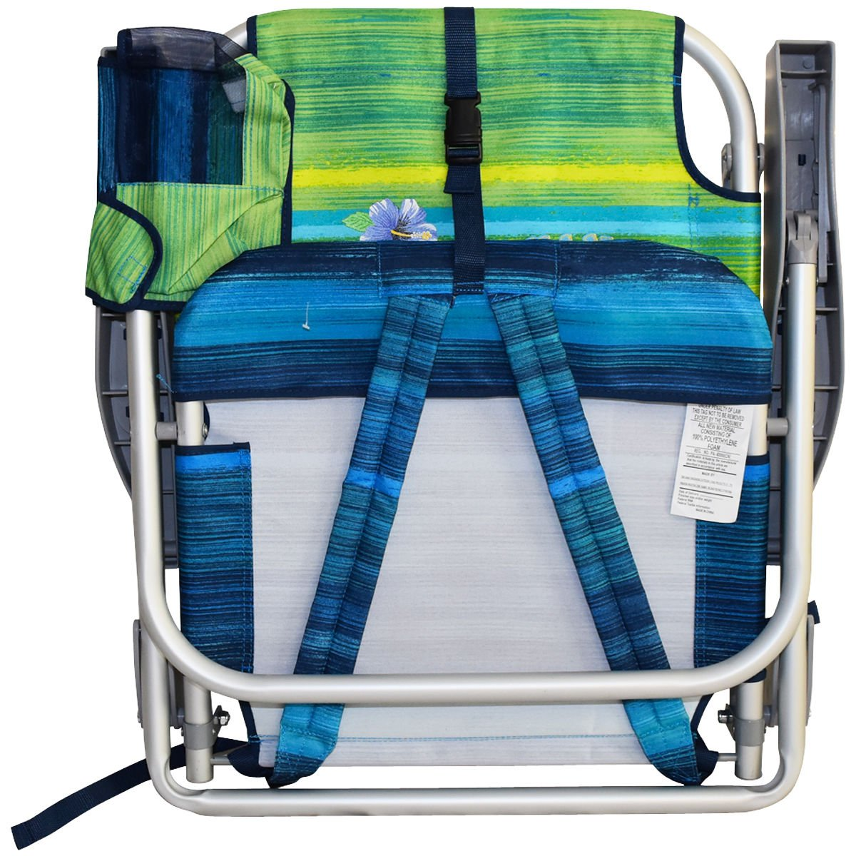 Tommy Bahama Backpack Beach Chairs with One Medium Tote Bag - Pack of 2 - Green by Tommy Bahama (Image #5)