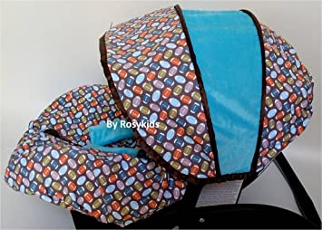 Fantastic Rosy Kids Infant Carseat Canopy Cover 3 Pc Whole Caboodle Baby Car Seat Cover Kit Cotton Creativecarmelina Interior Chair Design Creativecarmelinacom