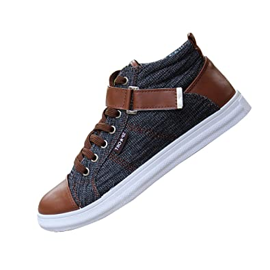 Shoes Men's Shoes Spring Summer Fall Comfort Fashion Boots Lace-up For Casual Party & Evening Outdoor Office & Career (Color : Black Size : 39)
