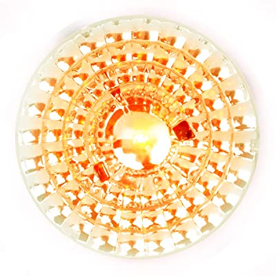 "Grand General 78495 Light (Co 2"" Spyder Amber LED Beehive, Clear Lens), 1 Pack: Automotive"