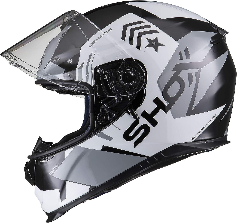 Shox Assault Evo Recoil Casque de Moto
