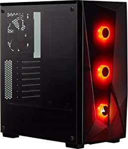 CORSAIR Carbide Series SPEC-DELTA RGB Mid-Tower ATX Gaming Case, Tempered Glass
