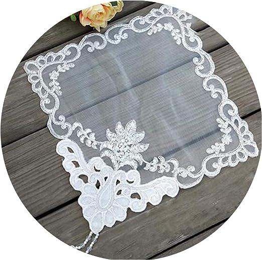 Amazon Com Juan 9 Luxury Lace Sequin Table Place Mat Cloth