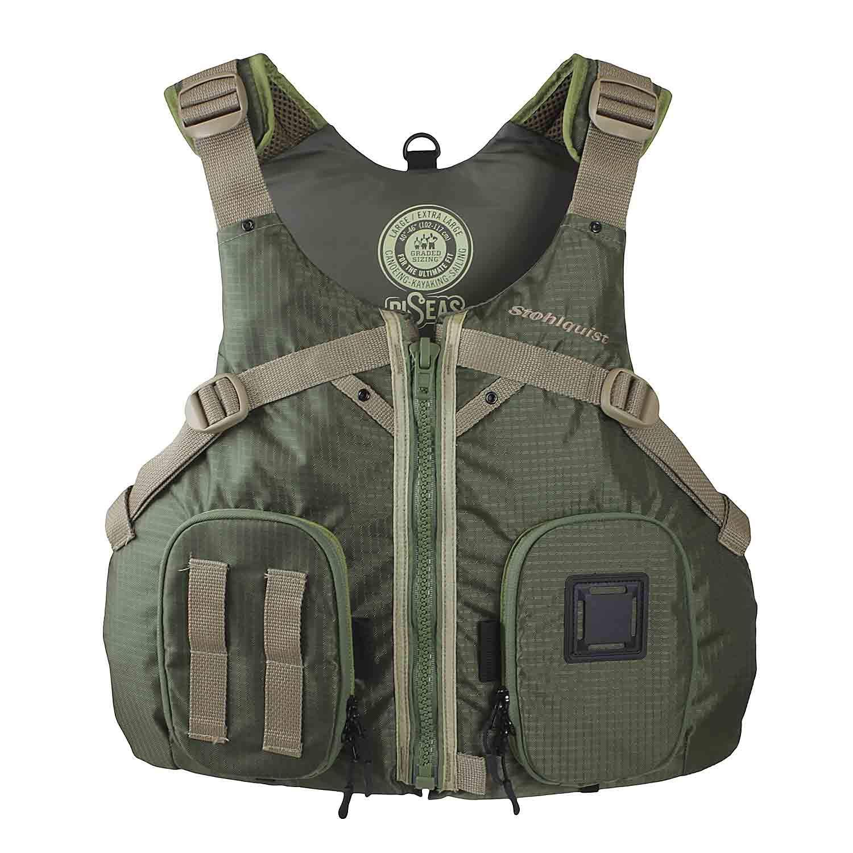 Stohlquist Piseas Lifejacket ( PFD ) S/M グリーン B079VJQG29