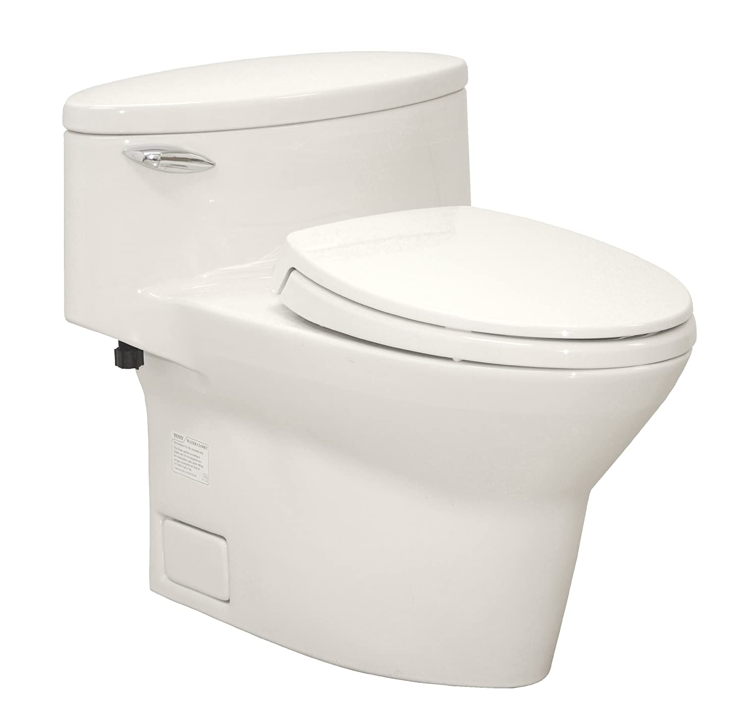 TOTO MS904114-12 Pacifica Elongated One Piece Toilet, Sedona Beige ...