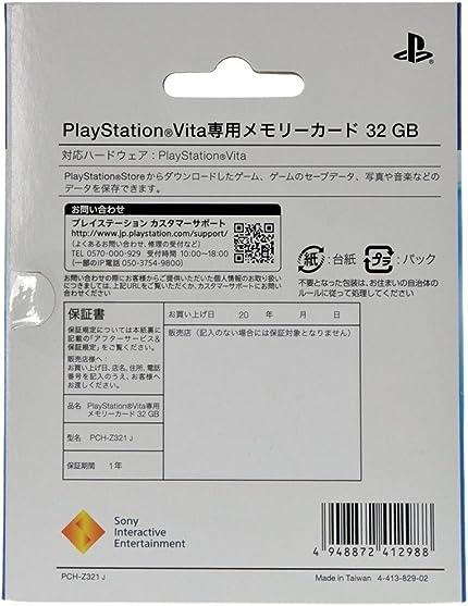 Amazon.com: 32GB PlayStation Vita Memory Card: Video Games