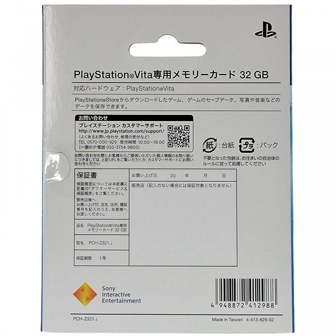 Playstation Vita - Tarjeta De Memoria, 32 GB: Amazon.es ...