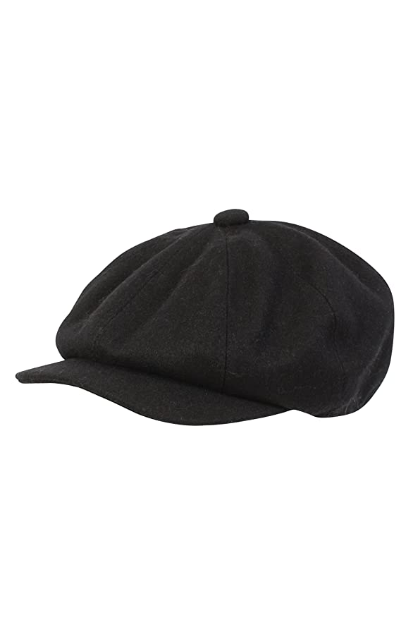 e291b9ce The Hat Company Rob Wool Blend Bakerboy/Newsboy Cap: Amazon.co.uk: Clothing