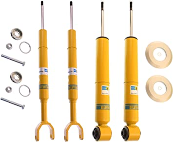 OEM Rear and Front Shock Absorber Kit For Audi A6 Quattro w// Standard Suspension