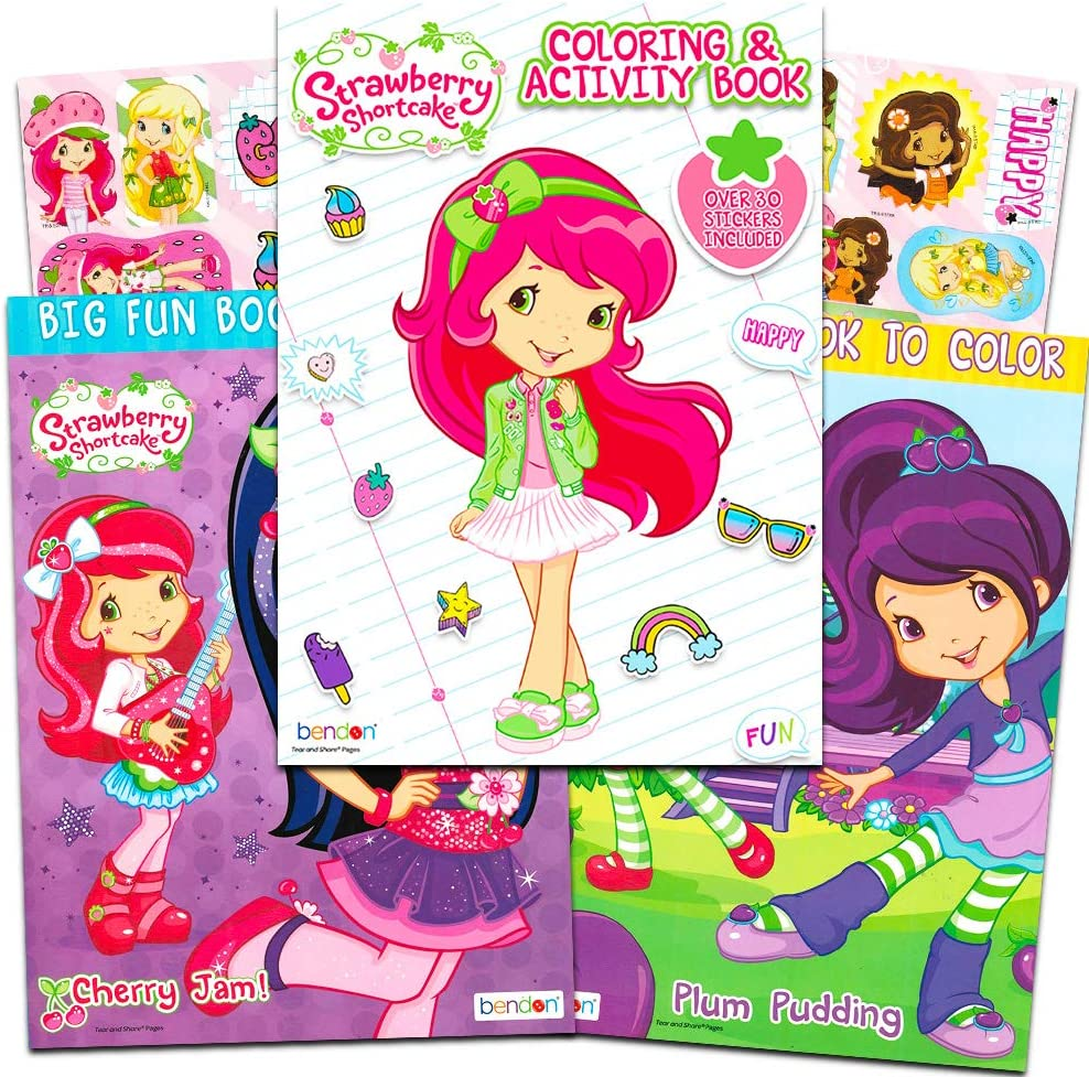 - Strawberry Shortcake Party Supplies Strawberry Shortcake Coloring
