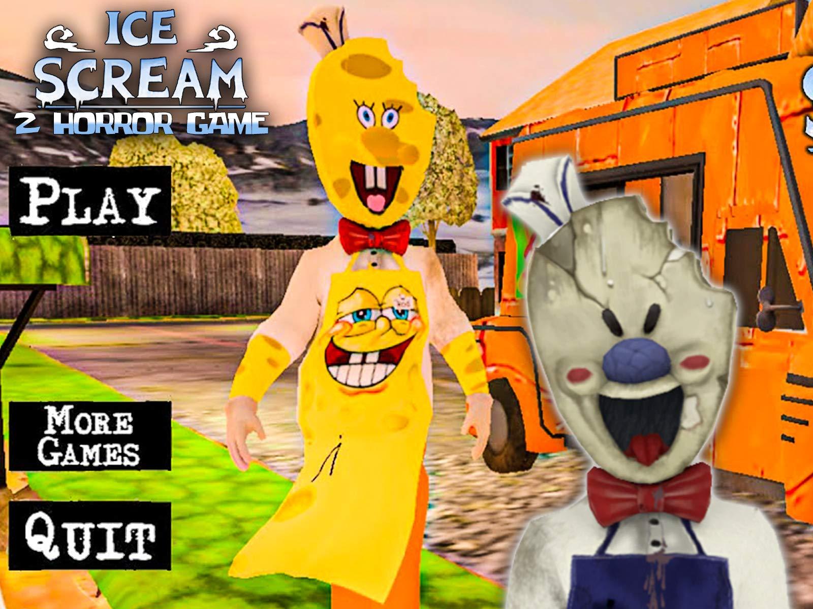 Ice Scar Roblox Watch Clip Ice Scream 2 Horror Game Prime Video