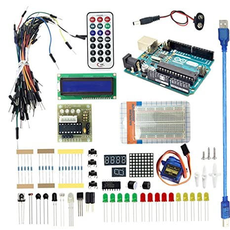 Amazon.com: Arduino Basic Kit with Arduino UNO R3 for Learning ...