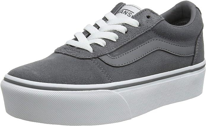 Vans Ward Sneakers Platform Damen Grau