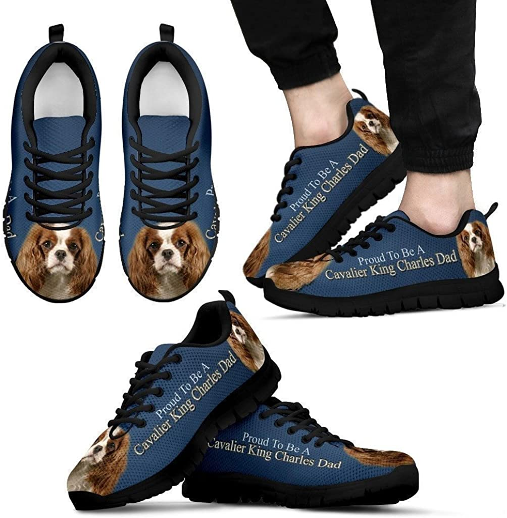 Proud to Be A Cavalier King Charles Dad Running Shoes-Fathers Day Special