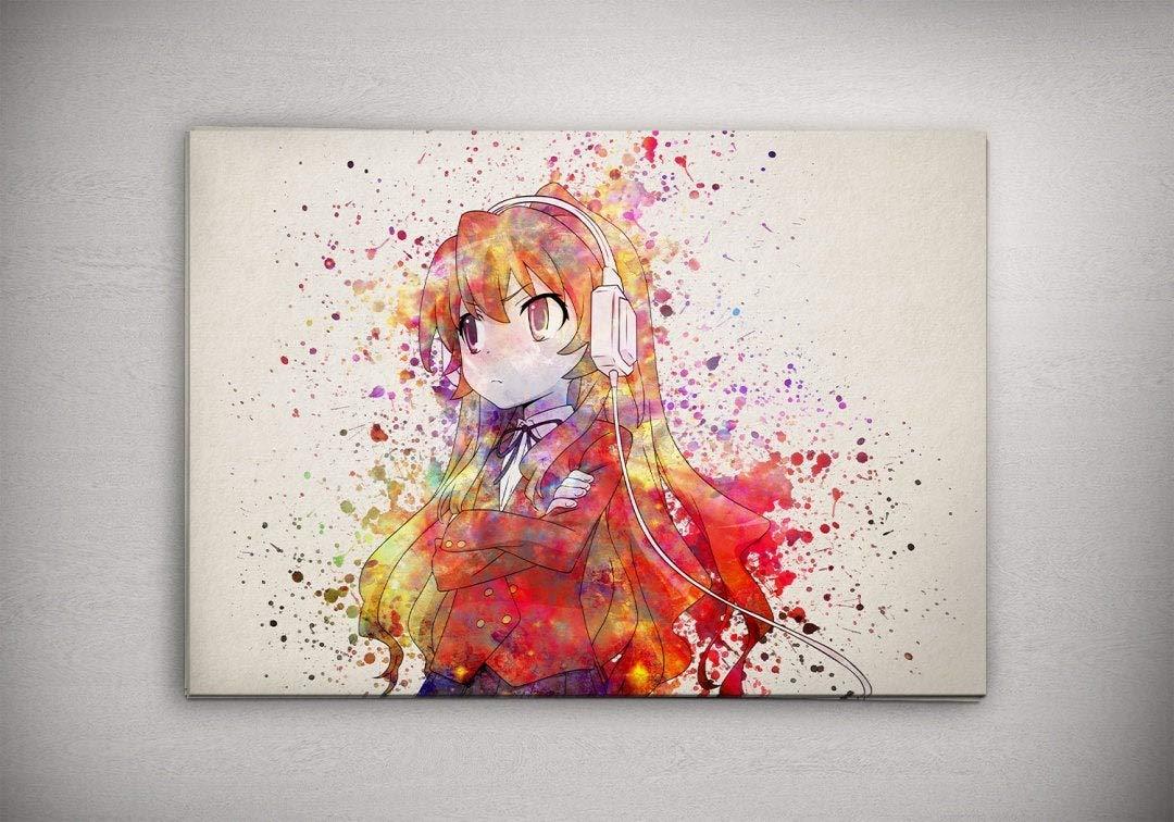 Aisaka Poster Toradora Anime Wall Print Toradora Anime Home Decor Toradora Anime Canvas Print Toradora Anime Artwork Toradora Anime Watercolor Print