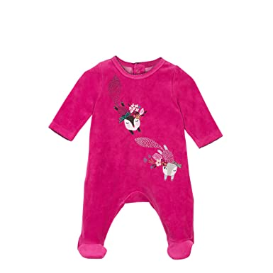 fe26344be6d2 Amazon.com  Velvet Pajamas with Floral Animal Print  Clothing