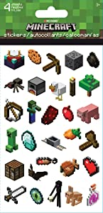 Trends International Minecraft - Standard Sticker - 4 Sheet