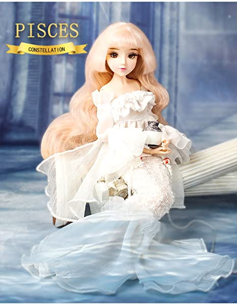 Mystery Magic Girl Fortune Days BJD doll 12 inch Twelve constellation  series doll (PISCES)