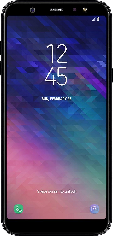 Samsung Galaxy A6 Plus Smartphone (15,36 Cm (6 Zoll) Amoled Display, 32Gb Interner Speicher Und 3Gb RAM, Dual-Sim, Android 8.0) Negro - German Version