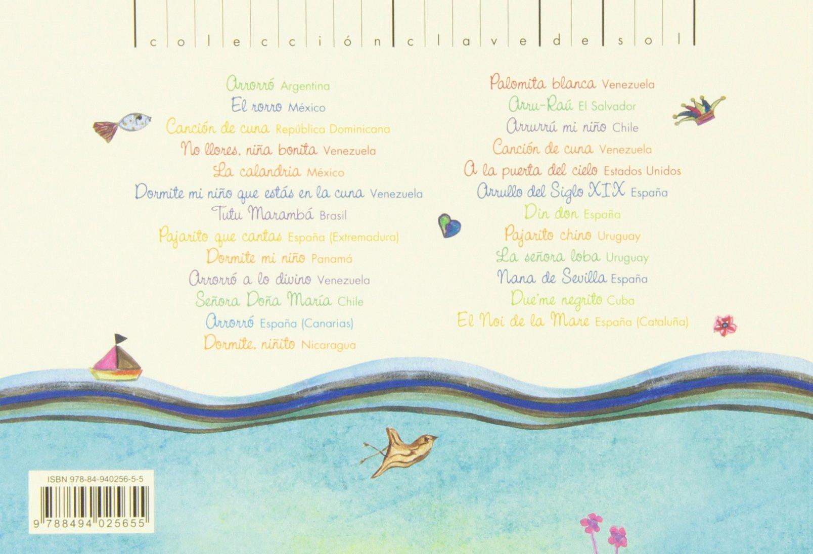 Arrorró mi niño: Cancionero de cuna (Clave de sol): Amazon.es: Carole Fleishman: Libros