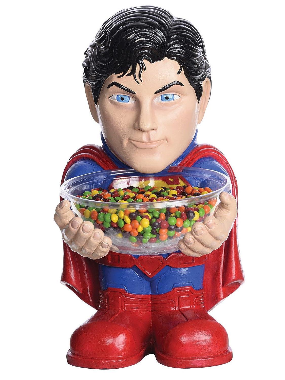 DC Comics Superman Bonbon Schalen Halter rot blau 40cm
