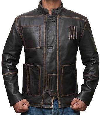 Han Solo Jacket Kostüm Harrison Ford Star Wars Force Erwacht Braune ...